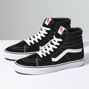 Can Sk-8 High Tops in Black